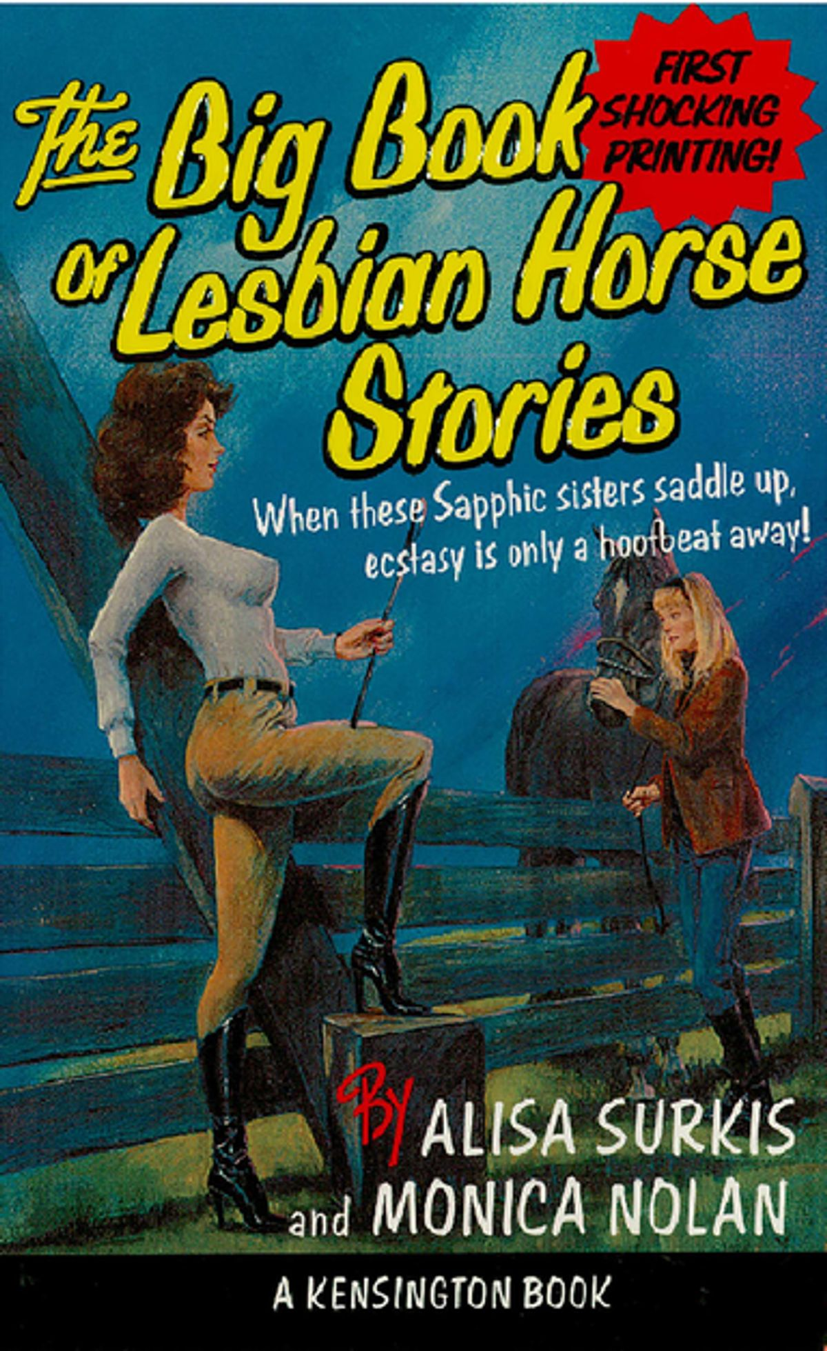 'The Big Book of Lesbian Horse Stories' by Alisa Surkis