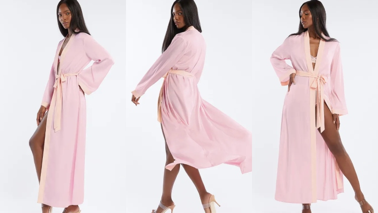 Savage X Fenty Maxi Robe