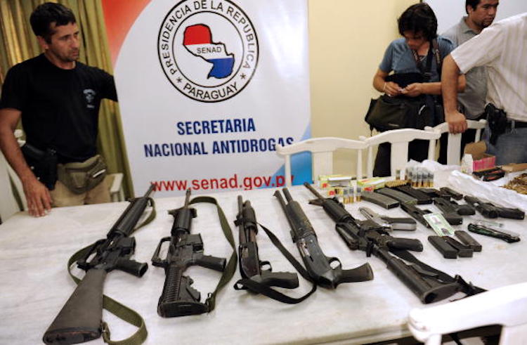 Toy Guns Left By Paraguay Thieves in 'Most Embarrassing' Robbery