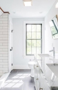 Bathroom Don't: White
