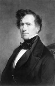 Franklin Pierce may have run over an elderly woman