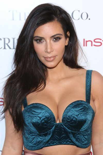 Kim Kardashian attends ACRIA's 19th Annual Holiday Dinner Benefit at Skylight Modern on December 10