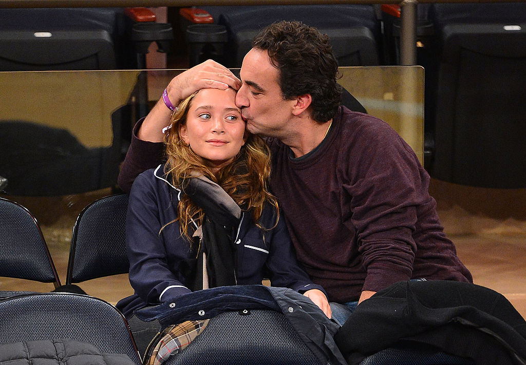 2. Mary-Kate Olsen and Olivier Sarkozy