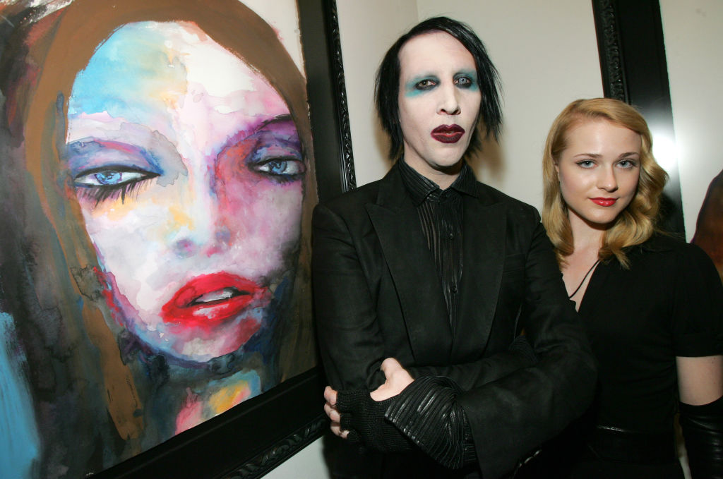3. Marilyn Manson and Evan Rachel Wood