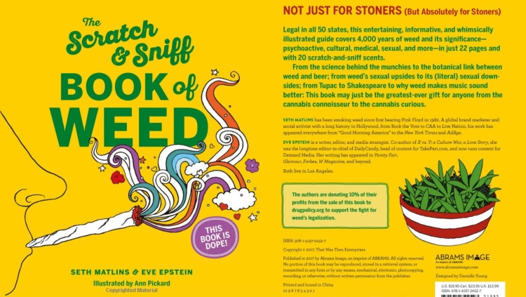 'The Scratch And Sniff Book Of Weed'