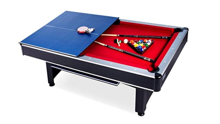 Rack's 7-Foot Convertible Pool/Tennis Table