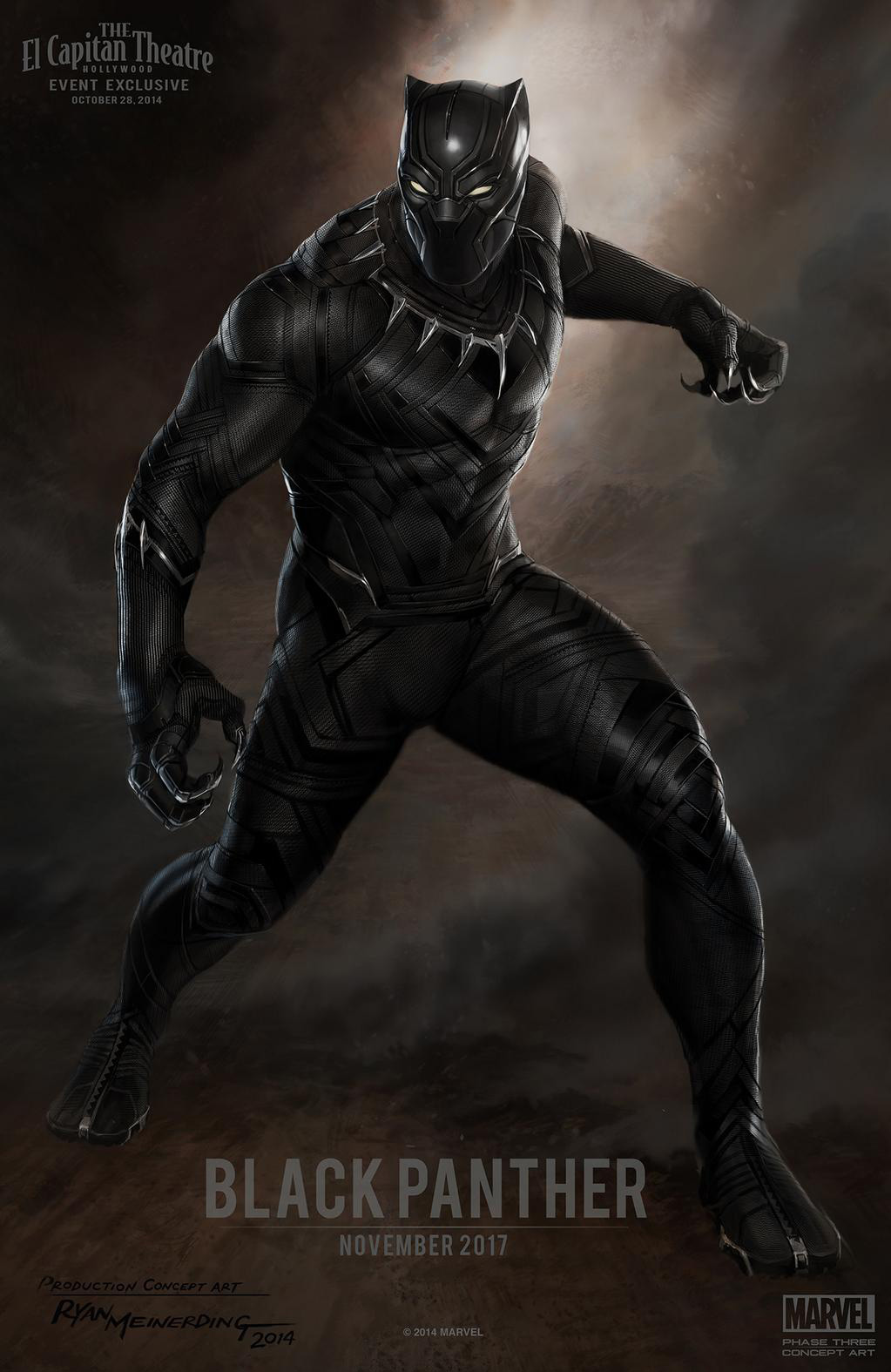 Concept Art: Black Panther
