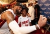 LeBron -- Two-Time Champion -- Snaps A Pic With A Fan.