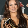 Trophy presentations in the Press Room at the 23rd Annual MTV Movie Awards at Nokia Theatre on April 13, 2014 in Los Angeles, California. Featuring: Mila Kunis Where: Los Angeles, California, United States When: 13 Apr 2014 Credit: FayesVision/WENN.com