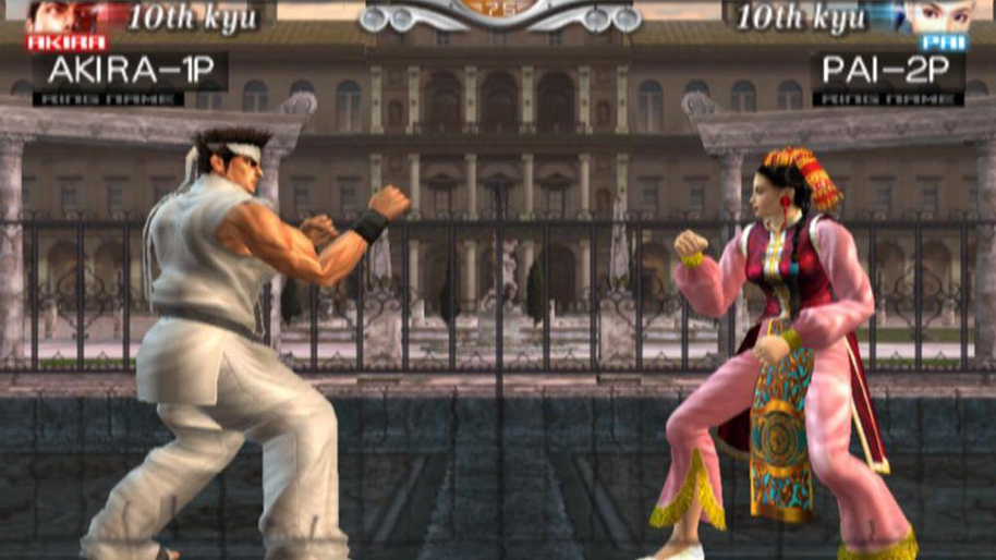 'Virtua Fighter 4'