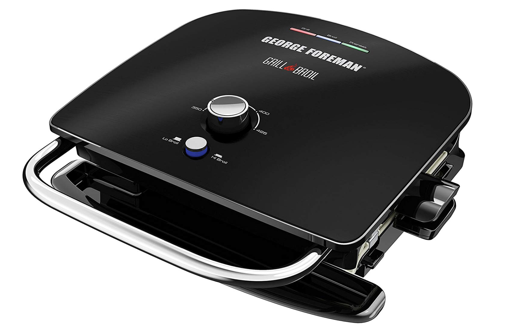 George Forman Grill & Broil 7-in-1 Electric Indoor Grill