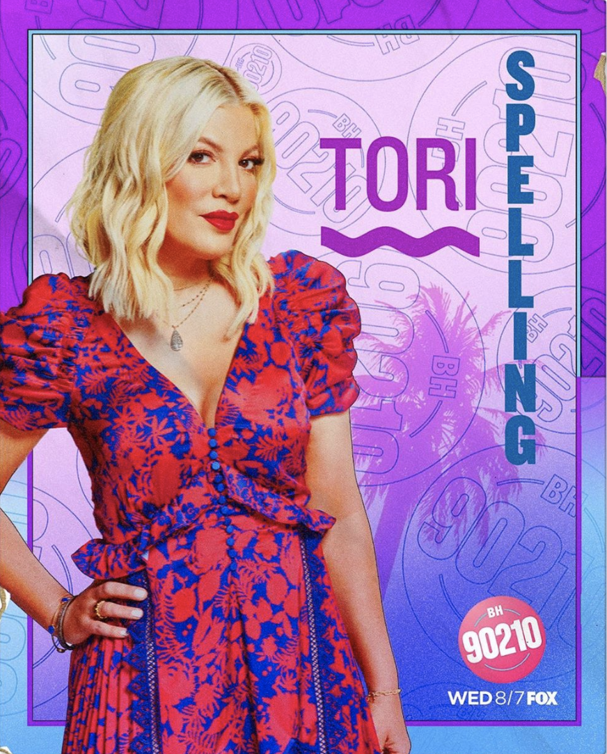 Tori Spelling is Donna Martin