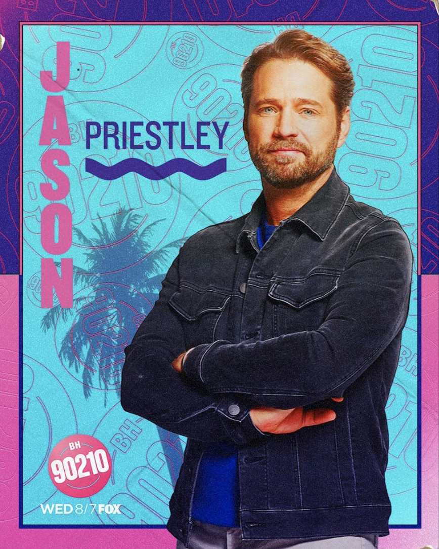 Jason Priestley is Brandon Walsh