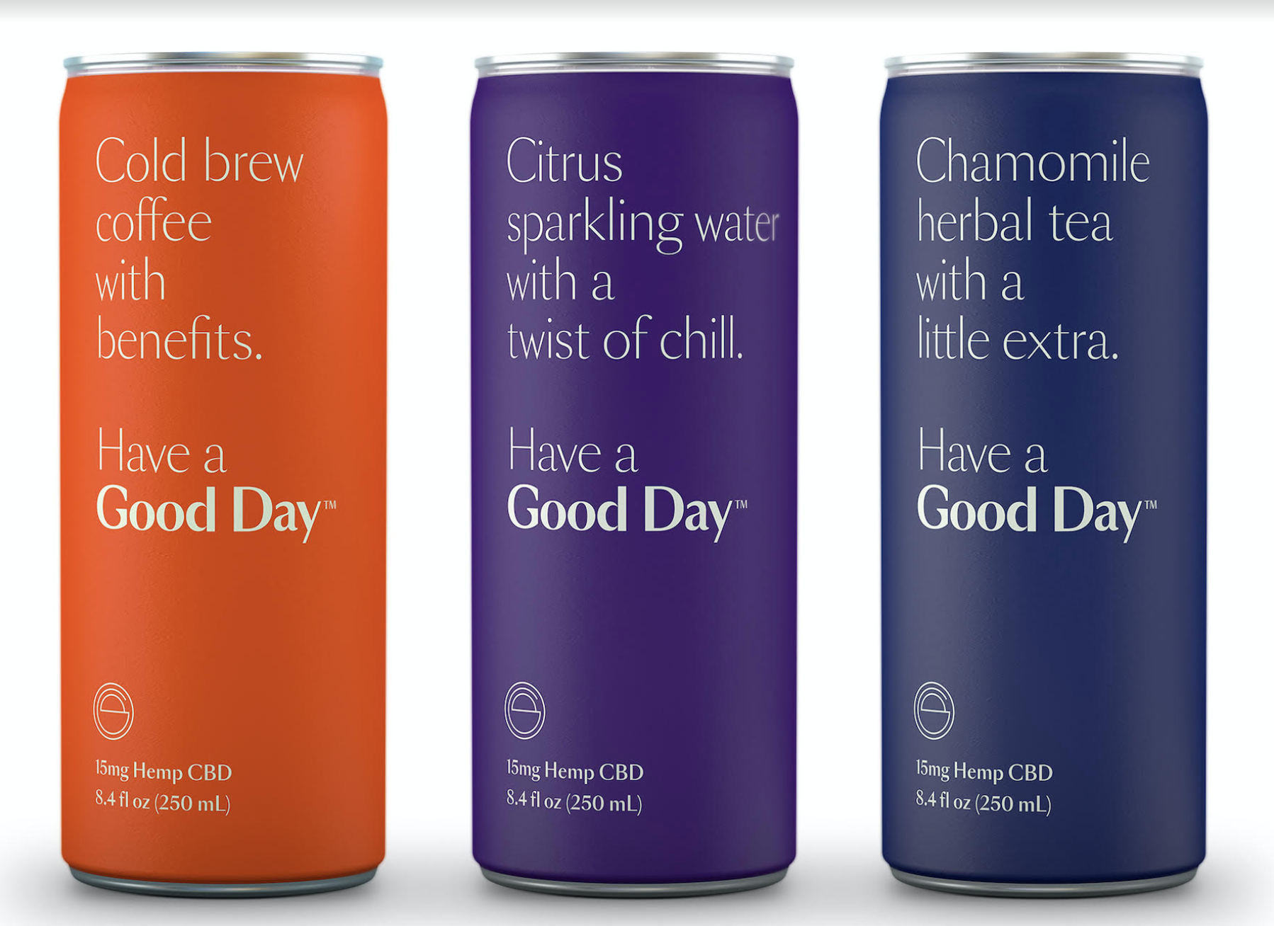 Good Day CBD Infused Beverages
