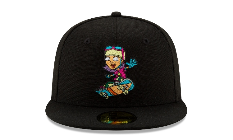 Rocket Power Reggie 59Fifty Fitted Cap