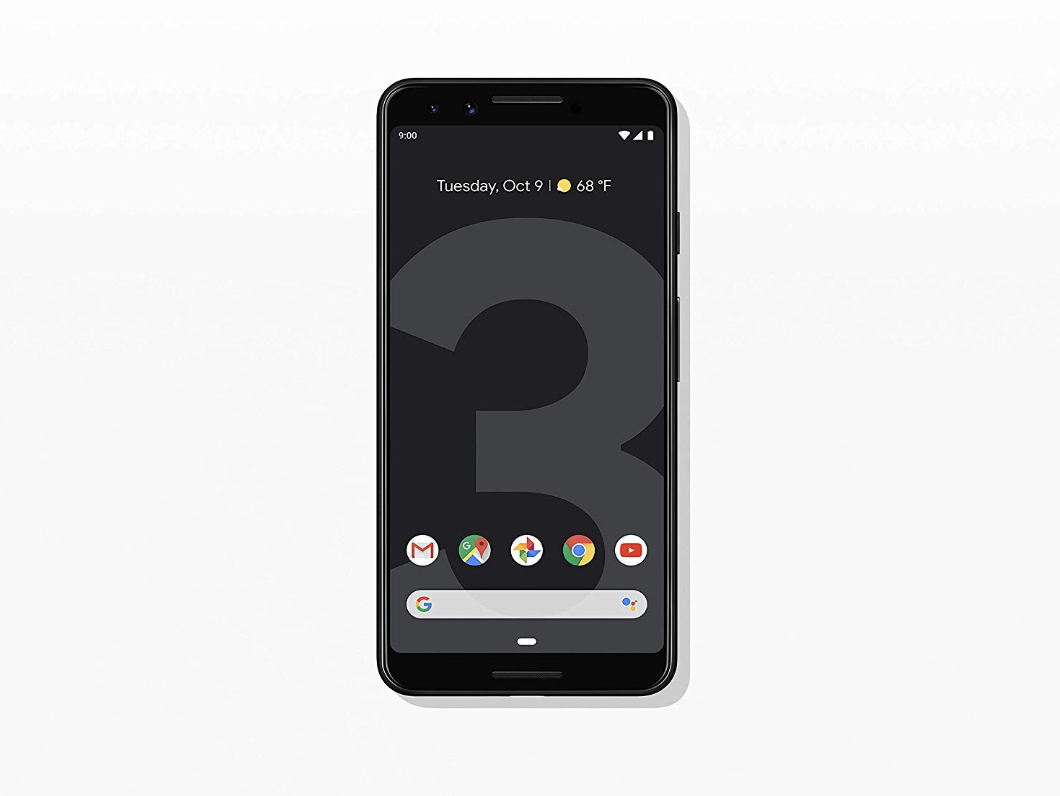 Google - Pixel 3 With 64GB Memory Cell Phone (Unlocked)