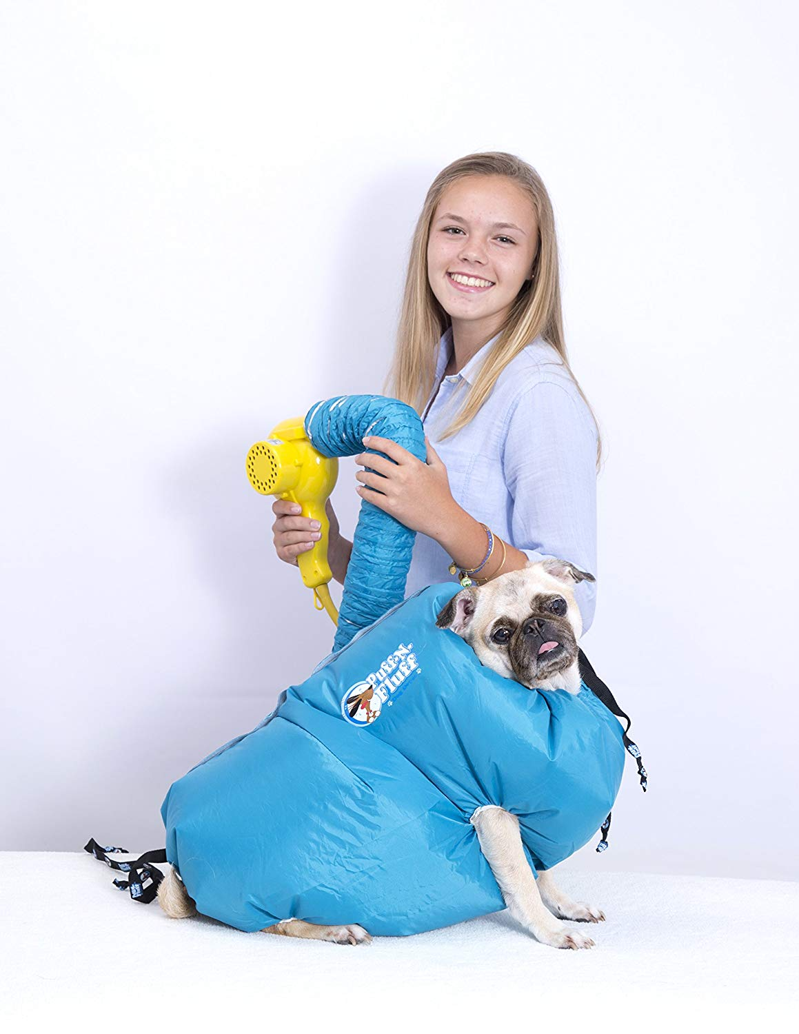 A Blow-Drying Dog Suit - $69.95