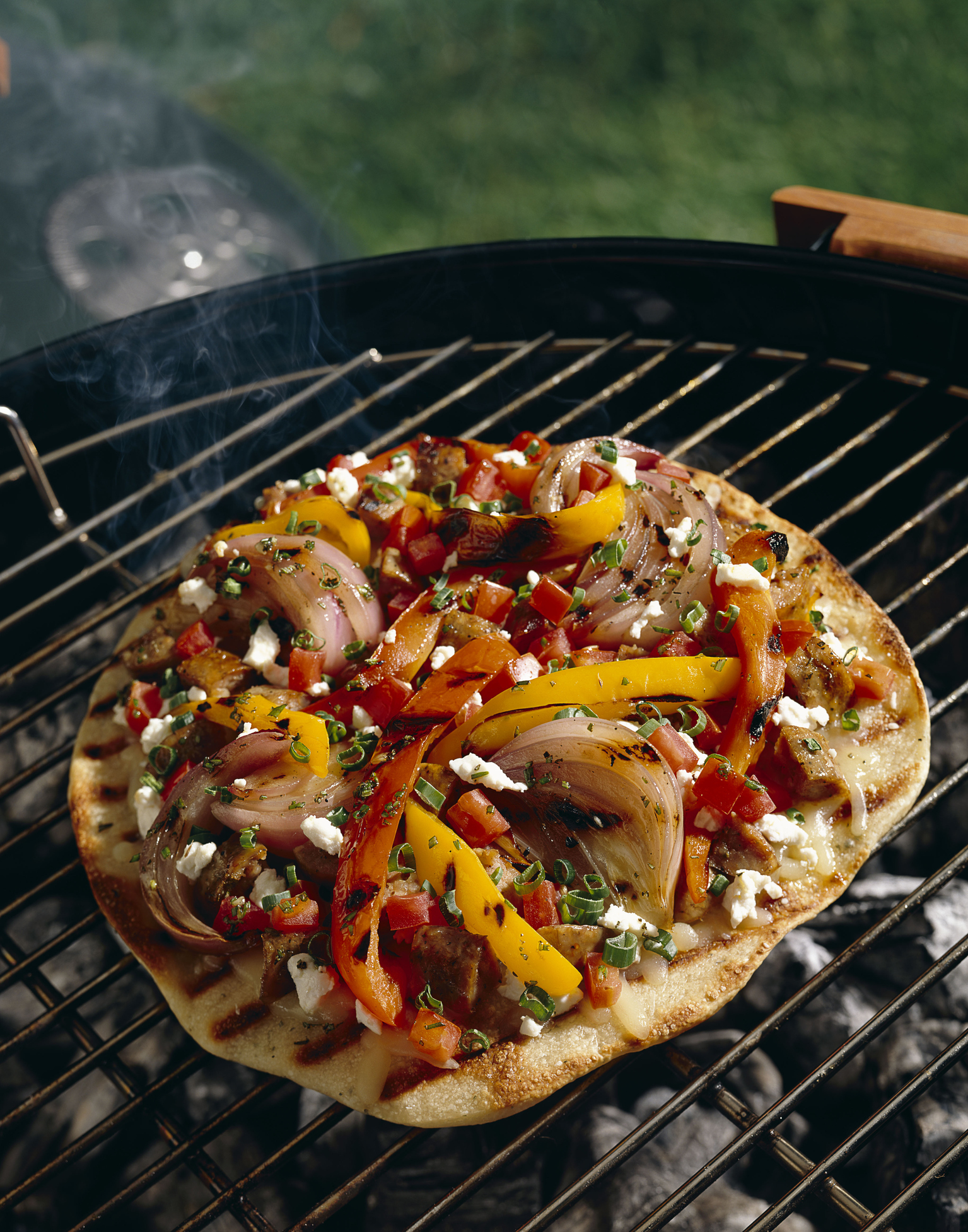 5. Grilled Pizza