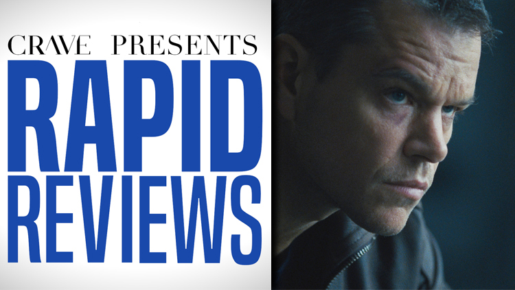Rapid Reviews | 'Jason Bourne'
