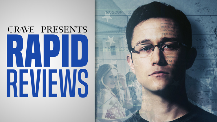 Rapid Reviews | 'Snowden'