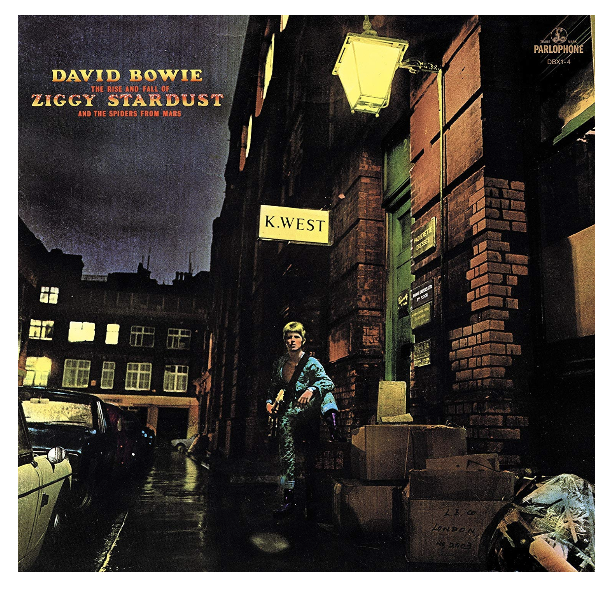 'The Rise and Fall of Ziggy Stardust and the Spiders From Mars' - David Bowie