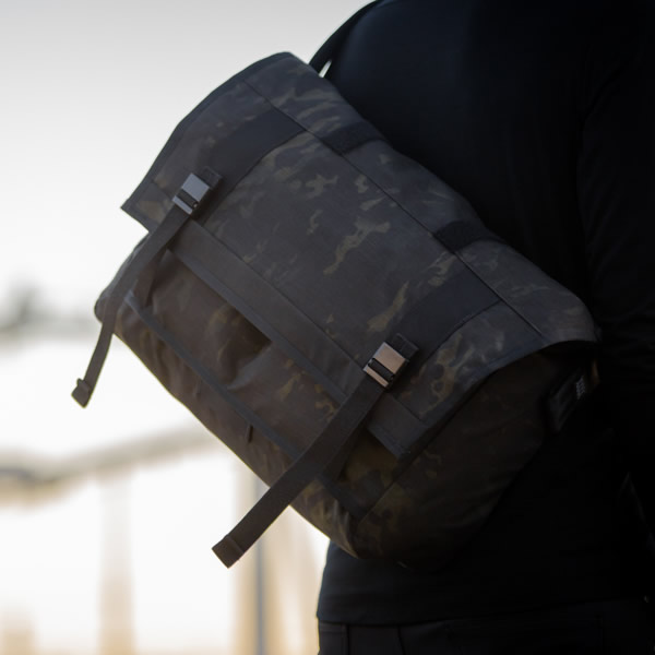 Mission Workshop, Black Camo Series Messenger Bag
