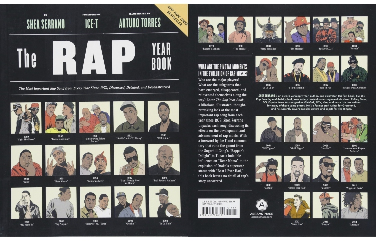'The Rap Year Book: The Most Important Rap Song From Every Year Since 1979, Discussed, Debated, and Deconstructed'