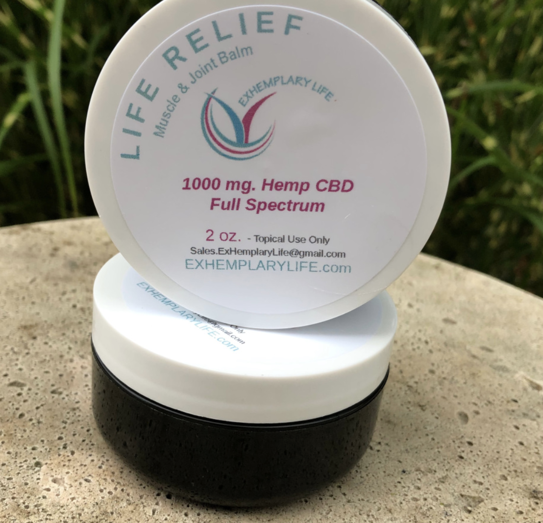 Hemp Life Relief Balm 1000mg