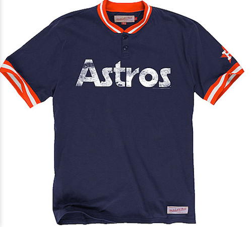 Mitchell And Ness Game Ball Henley