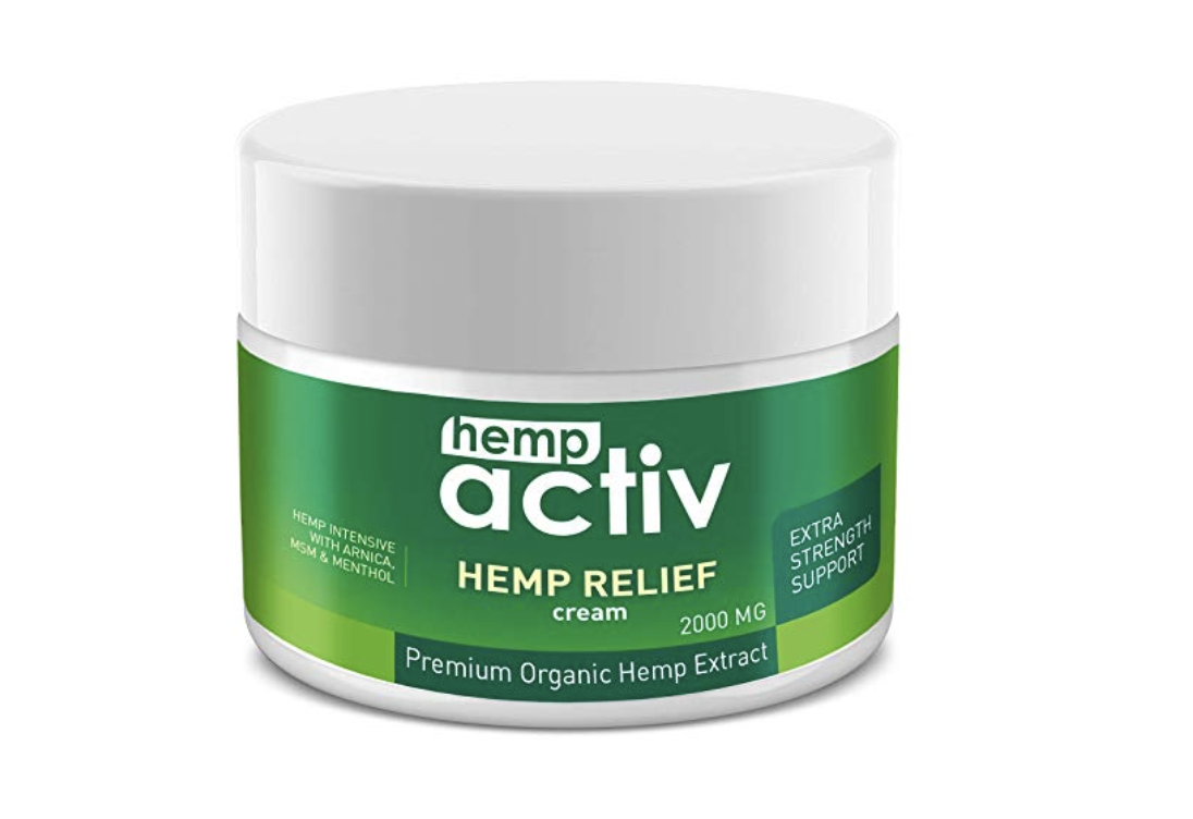 HempActiv Pain Relief Cream