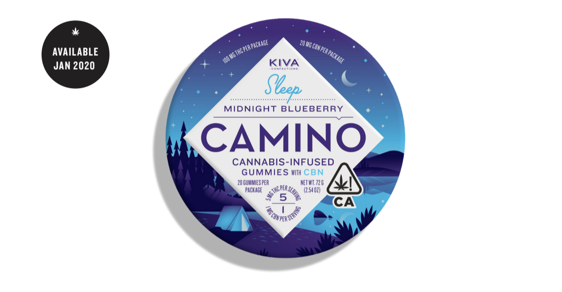 Kiva's Camino Midnight Blueberry