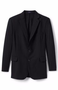 Washable Wool Suit Coat by Lands' End