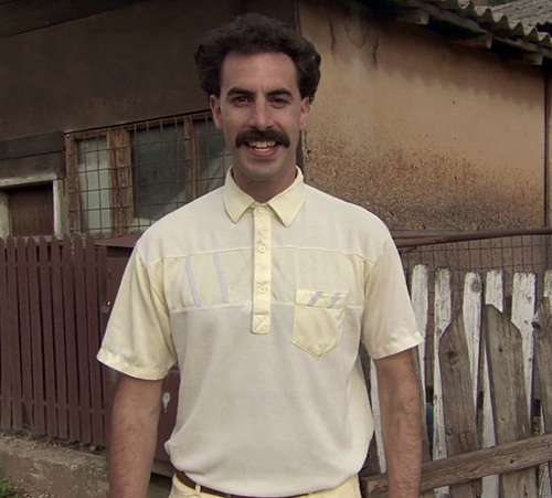25. Borat: Cultural Learnings of America for Make Benefit Glorious Nation of Kazakhstan (2006)