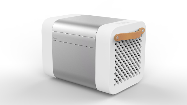 The Kube combines cooler with speakers.