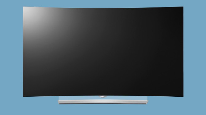 The bendable TV makes waves.