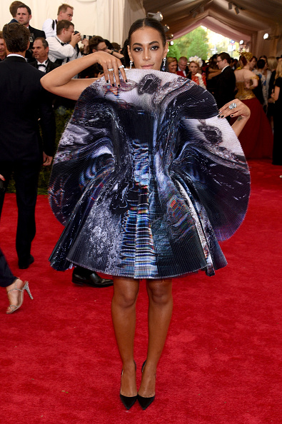 Solange Knowles at 2015 Met Gala