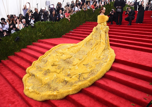 Rihanna at 2015 Met Gala