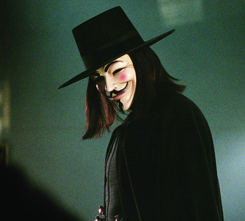 26. V for Vendetta