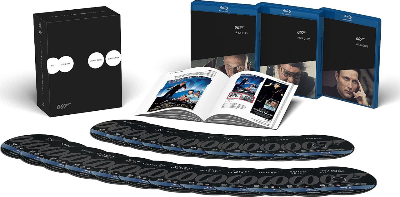 10. Ultimate James Bond Collection