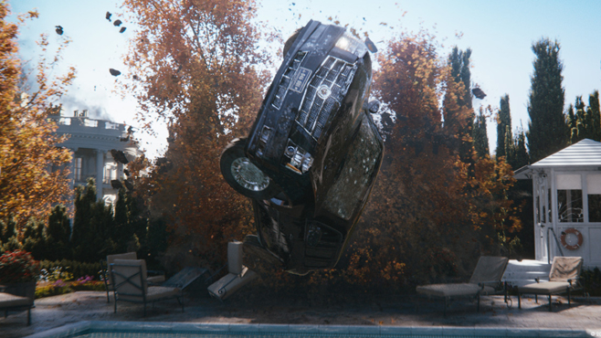 8. The Limo Chase, from White House Down