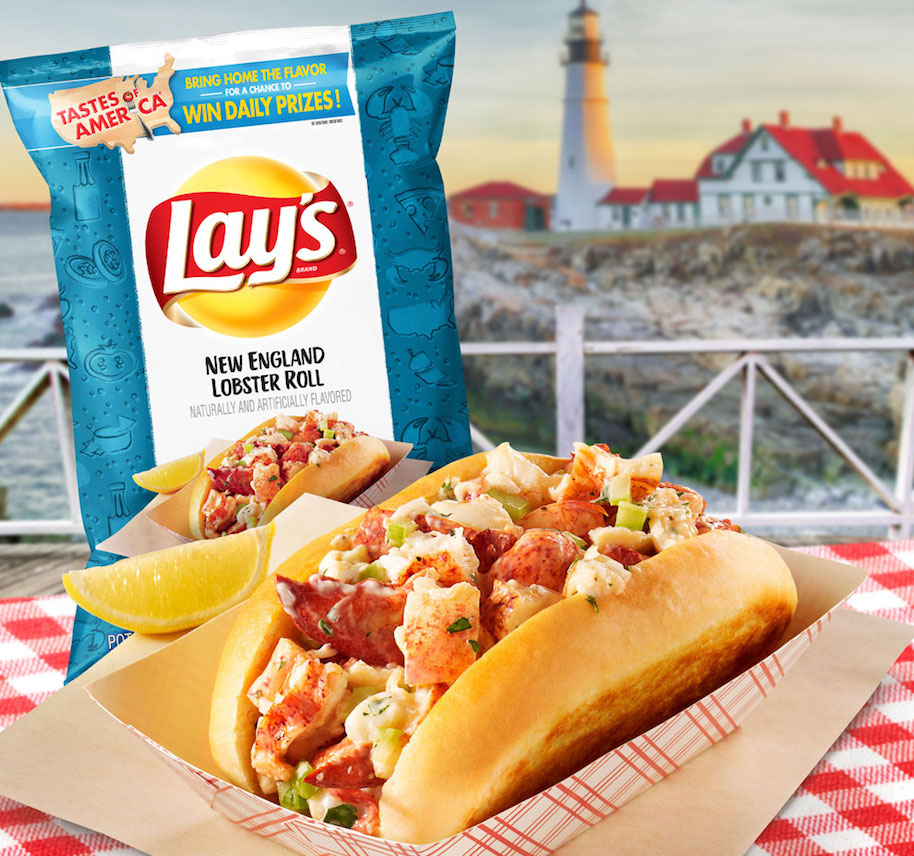 Lay's New England Lobster Roll Chips