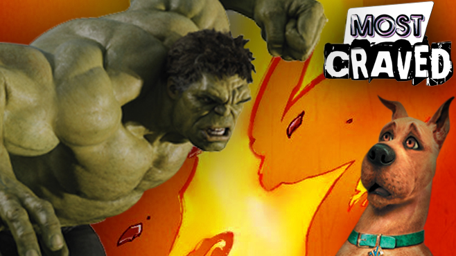 Hulk Smashes, DC Superhero and Scooby-Doo Movies on Most Craved