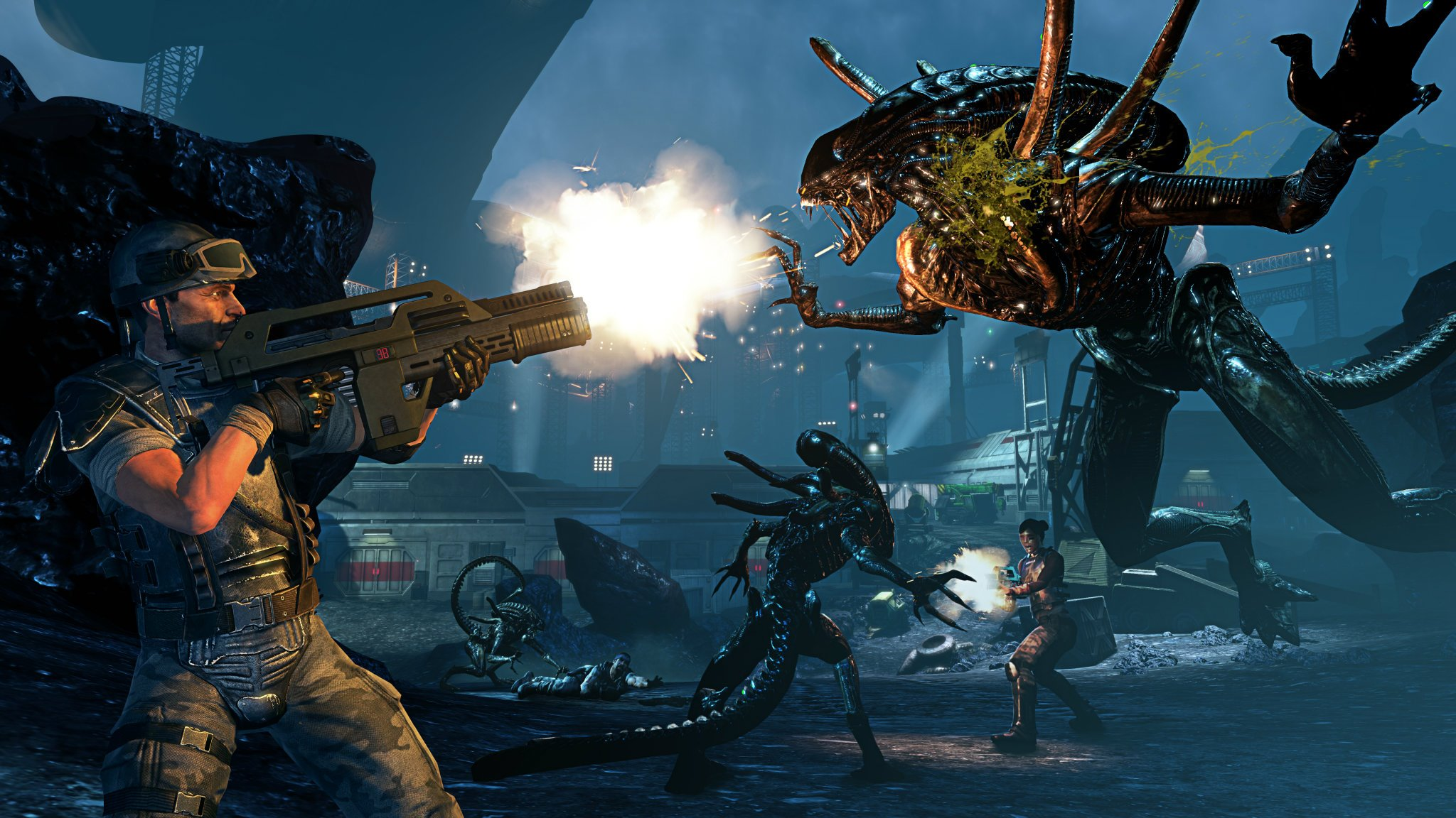 3. Aliens: Colonial Marines