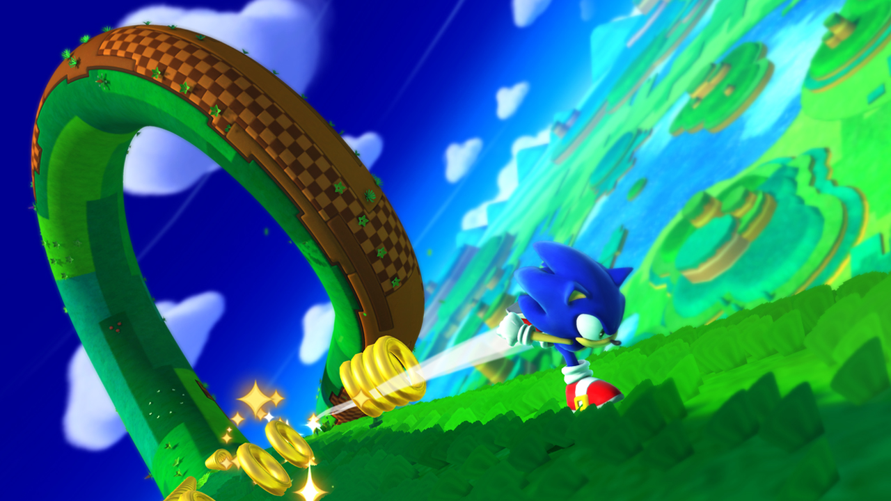 4. Sonic Lost World