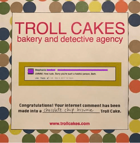 "Get Sweet Revenge with ""Troll Cakes"" Bakery & Detective Agency"