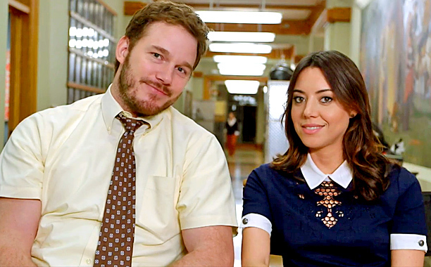 9. Andy and April on 'Parks and Recreation'