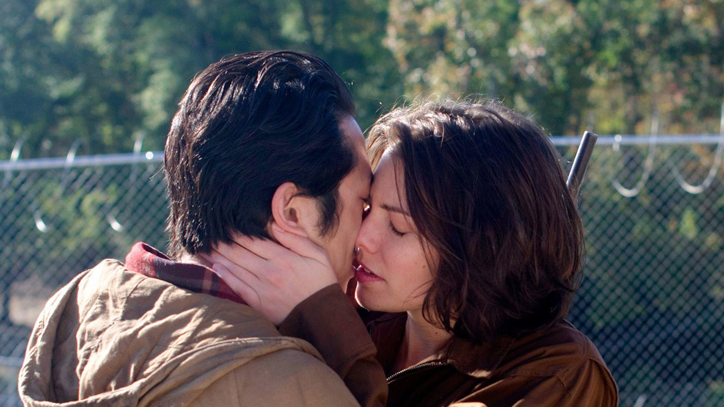 7. Glenn and Maggie on 'The Walking Dead'
