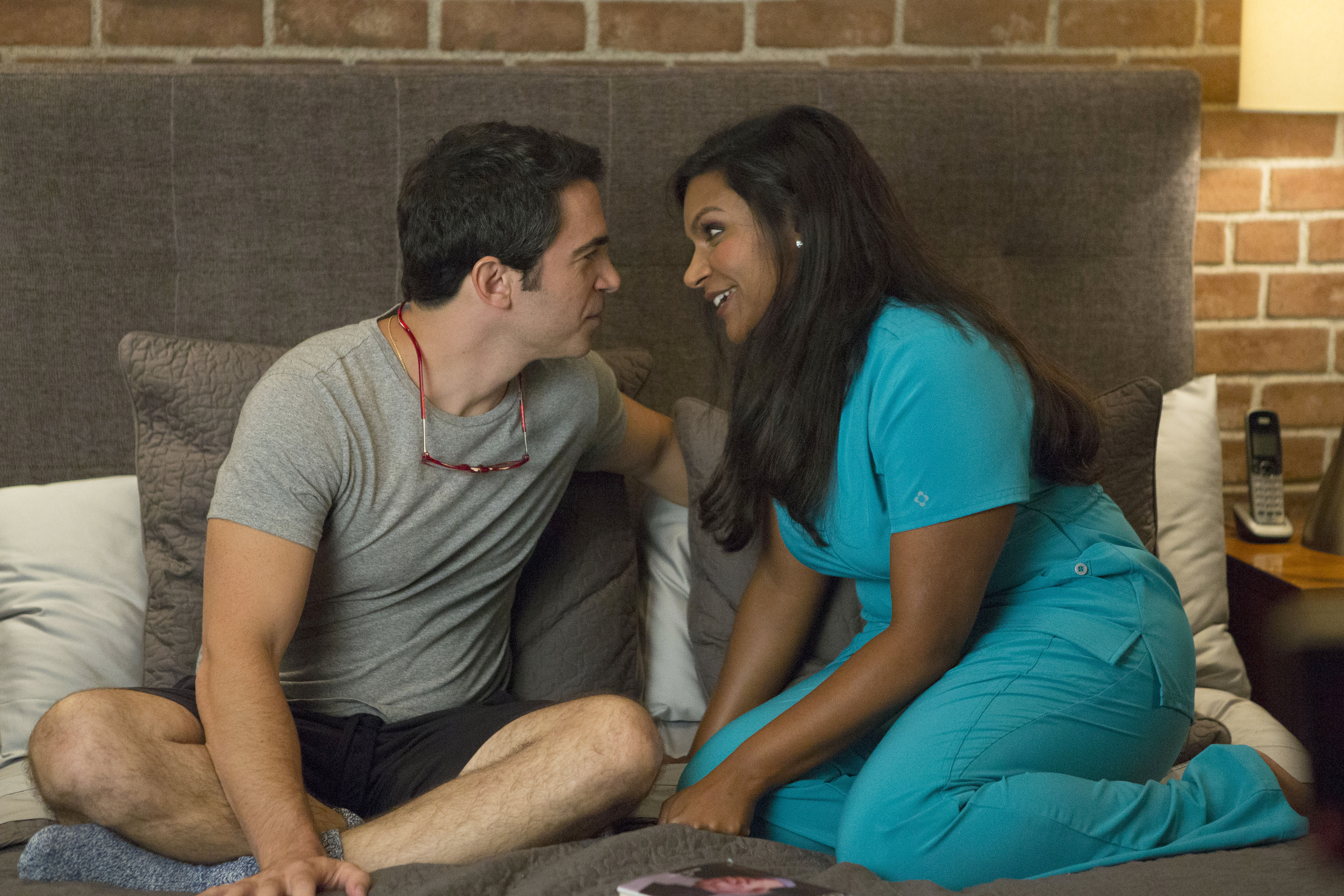 14. Mindy and Danny on 'The Mindy Project'