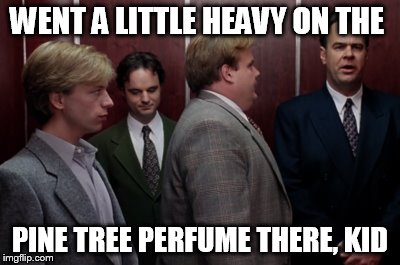 Easy on the Pine-Cone Perfume