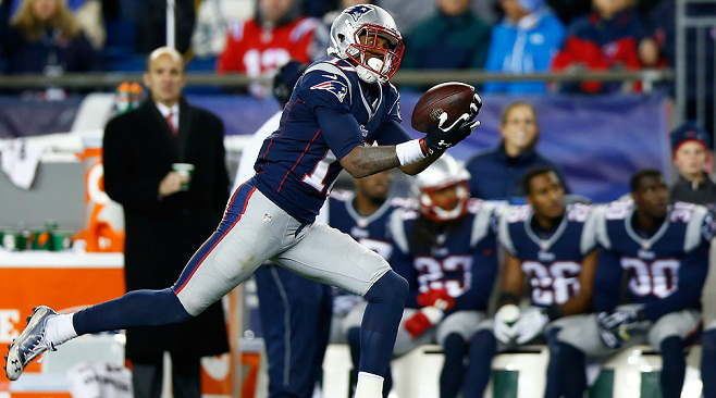 Aaron Dobson WR - New England (36% owned)
